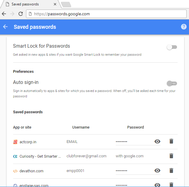 Google knows all Our Password | ByteNbit