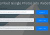 Embed Google photos into website-min