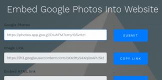 Embed Google photos into website-min