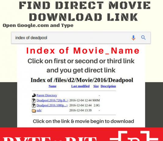 Search & Download any movie